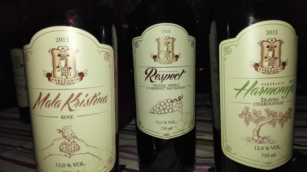 vinarija Parežanin