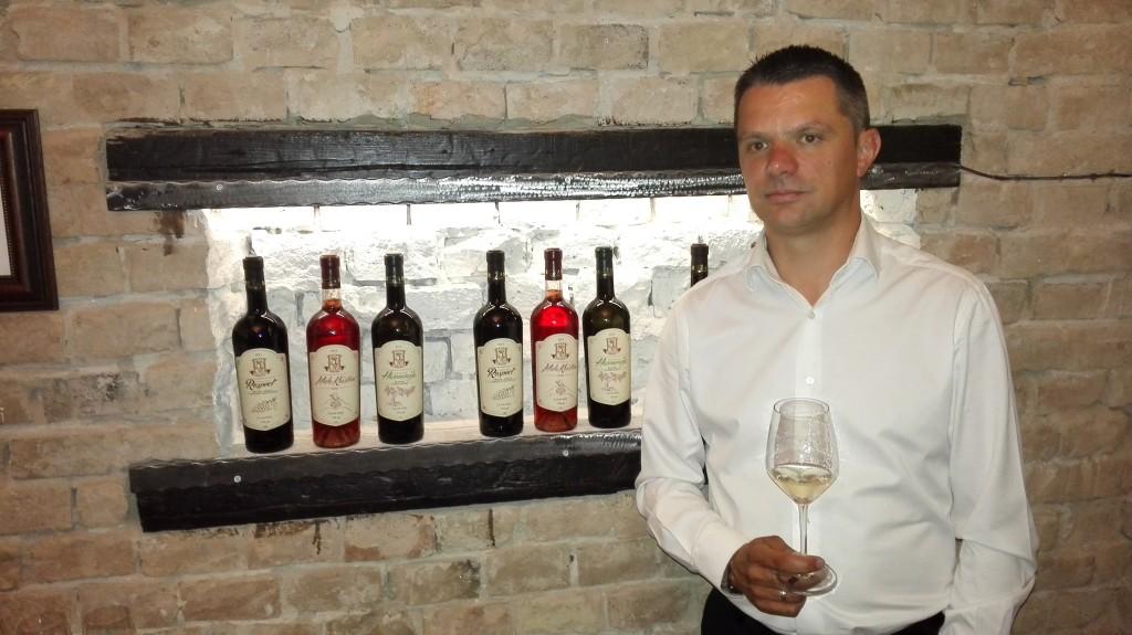Radivoje Parežanin, vlasnik vinarije Parežanin