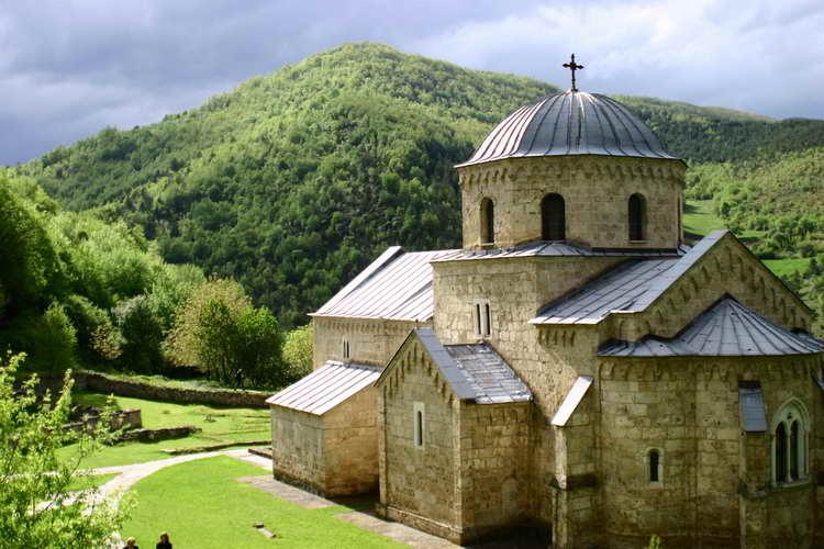 Gradac Monastery (Serbia), founded by Helene D'Anjou