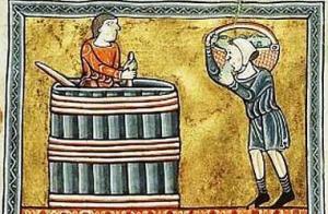 srednjovekovno vinogradarstvo