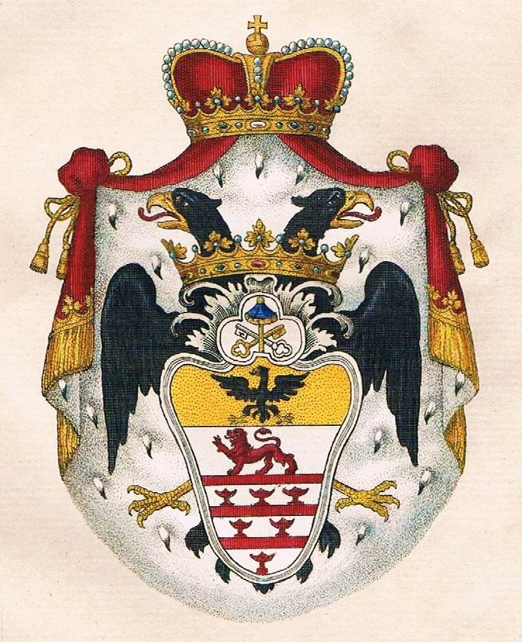 Grb vlastelinske porodice Odeskalki
